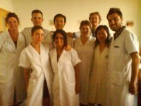 That's me, third on the right amongst my friends and colleagues in 2007. I spent several months at a hospital in China completing a clinical internship. I received a certificate in Acupuncture, Internal Medicine, Dermatology and Gynaecology.