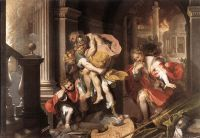 800px-AeneAenes Flight from Troy, by Federico Barocci