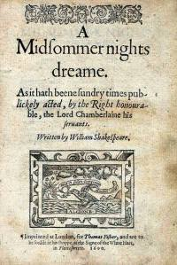 A Midsummernight's Dream