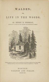 Walden, Thoreau